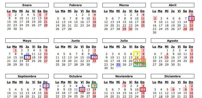 Calendario de Eventos a realizar en el Hipódromo de Antela 2018